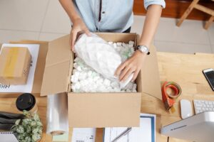 How to dispose of unwanted items while moving
